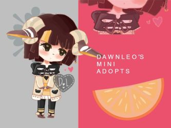 DAWNLEO'S MINI ADOPTS: 002 closed by youkeii