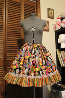 Day of the Dead Skirt by emiko42