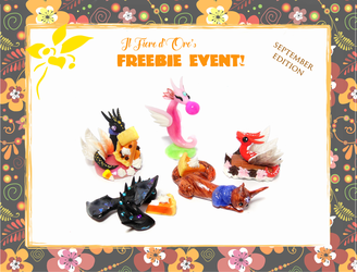 October 2018's freebie event - Bigger gifts by rosepeonie