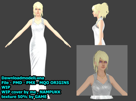 Dawnload : Luna freya to you continue model WIP by nampukkkk