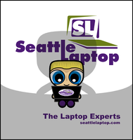 Seattle Laptop Shadow by Dragavan