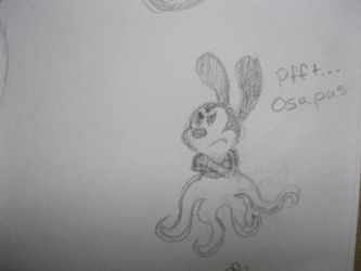 The Osapus is displeased by OneLittleSpark1928