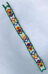 Peyote Diamond Strap by Refiner