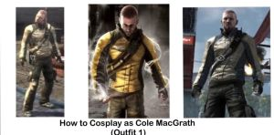 How to Cosplay as Cole MacGrath by VanossFan28