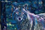 (The Midnight Series) Wolf by Lady-Valentine-Art83