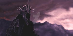 The Witch-King of Angmar by DiscoveringArtWorld