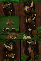 :Wyngro: -A surprise in the forest- by Tyranatus