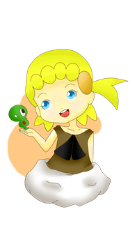 Eureka and Puni-Chan! by The-P3nguin