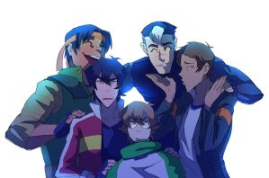 Voltron Family by Gobusawa