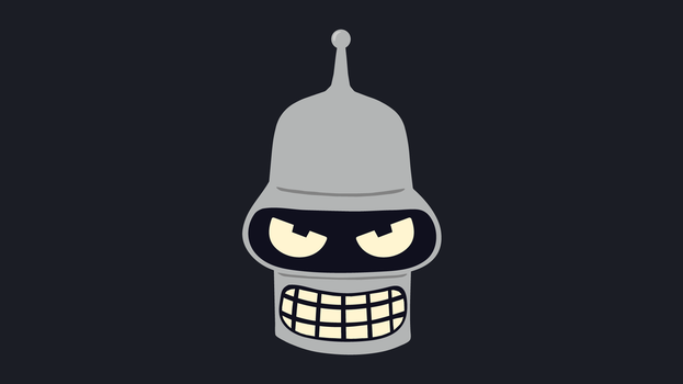 Bender Vector Art Wallpaper by WalidSodki