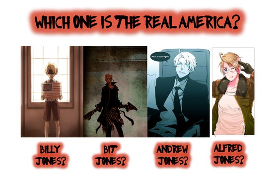The Four Faces of America by MapelHockey