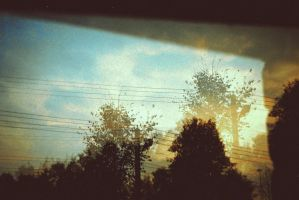 double exposure by Informel