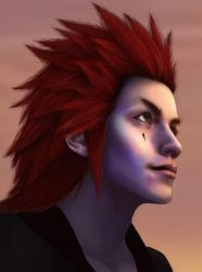 Axel - 358 2 Days WIP by the-caffeine-queen