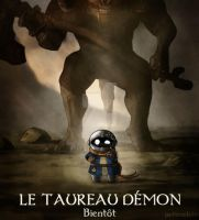 Dark souls Taureau demon by Poticceli