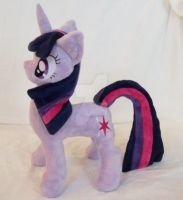 Twilight Sparkle Custom Minky Plush by ponypassions