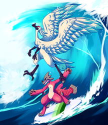 Surfs Up! by Opheleus