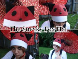 The Sneaky, Foxy Fox Hat by silver-raindrops