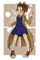 Genderbent of David Tennant by Silver-Lunne