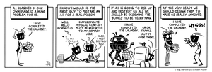 Bug Martini - I Have Completed The Laundry by joelduggan