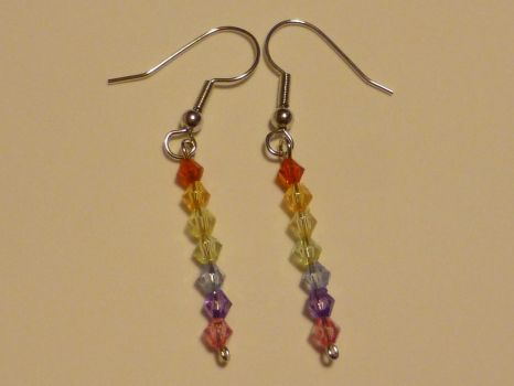 Rainbow Dangle by Duck-With-No-Name