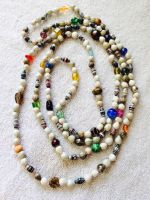 Opera Length Beaded Necklace by mintdawn