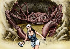 Attack of the Crab Monsters by Loneanimator