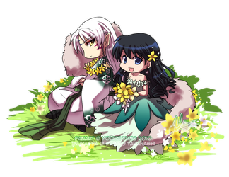 SessKag - In Bloom by YoukaiYume