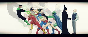 JLA - A Necessary Alliance by FieryStampede