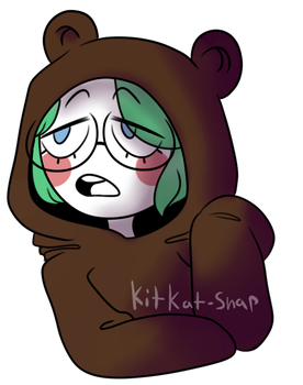 Tired Bear by KitKat-Snap