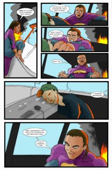Super Clyde - Water Comic Page 5 Recolored by vytera