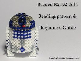 Tutorial: Beaded R2-D2 doll by crafty-maika