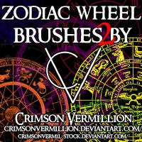 More Zodiac Wheels by crimsonvermil-stock