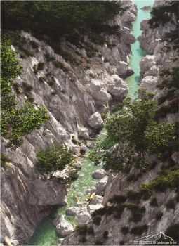 Emerald Gorge by 3DLandscapeArtist
