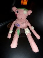 Adventure Time Marceline's Hambo Plushie Doll by CatsFeltLings