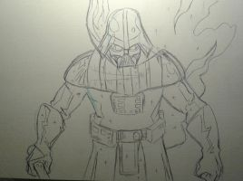 Darth Vader Sketch by MikeES