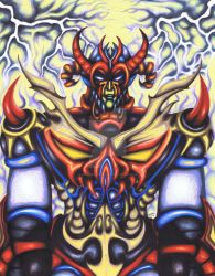 Destroyer2, Marker 11x14, 2010 by Madd2daMaxx