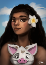 Moana by Jomethyst