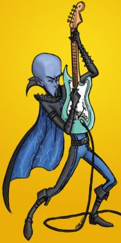 Megamind Rocks by Coley-wog