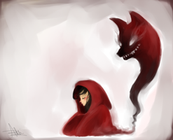 Haunted Red by marpie
