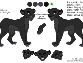 Aibu Ref Sheet by TheRealBlackLion