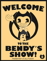 welcome to the bendy's show! - fanart contest by Skullgirl-2000
