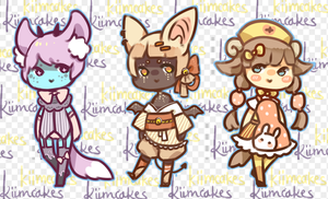 Random stress-reliever set (DECIDED) by kiim-adopts