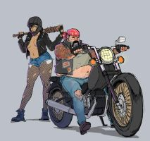 Bikers by ifesinachi