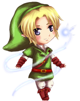 Chibi Link by leziith
