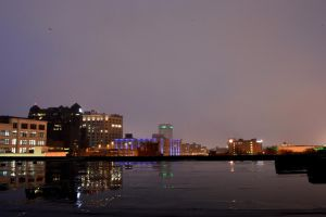 CSU and blue lights by TomKilbane