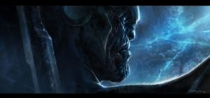 The Avengers- Thanos Reveal 03 by andyparkart