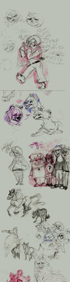 Fall 2012 SketchDump pt1 by Laura-the-animator