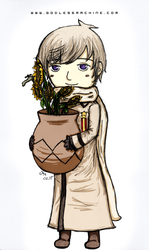 Russia and Sunflowers by godlessmachine