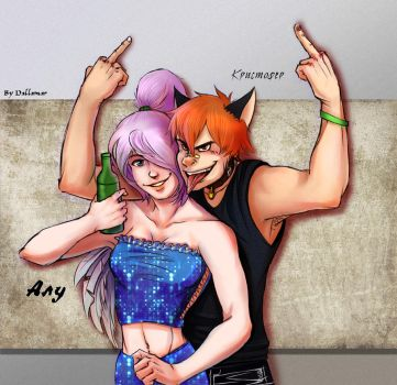 Old times Kris and alu by Dallamar