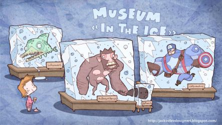 Museum In the Ice by lost-angel-less